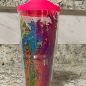 24 oz w/ LID TERVIS TUMBLER WITH PALM TREES